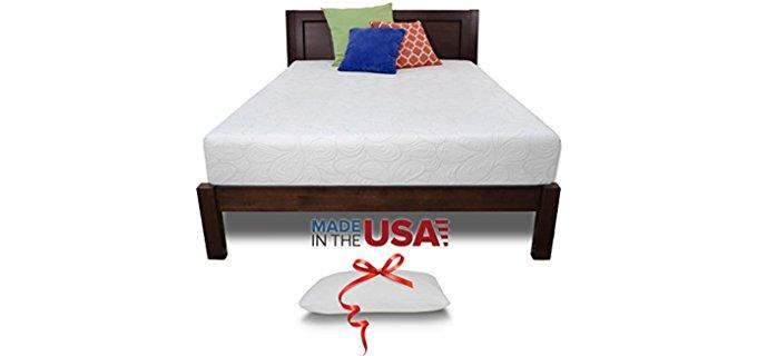 Resort Sleep Hotel Memory Foam - Therapeutic Shoulder Contour Support Foam Mattress