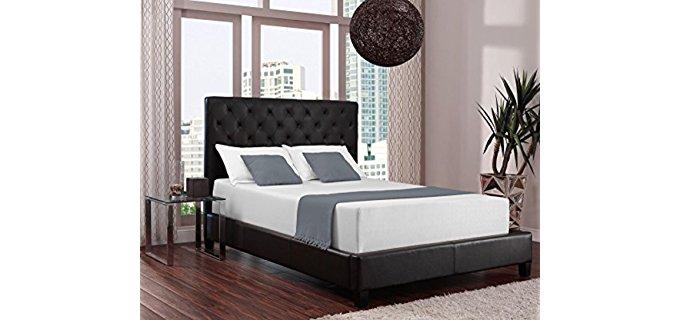 Signature Sleep Luxury Memory Foam Mattress - Luxury Body Cuddling Cooling Gel Mattress