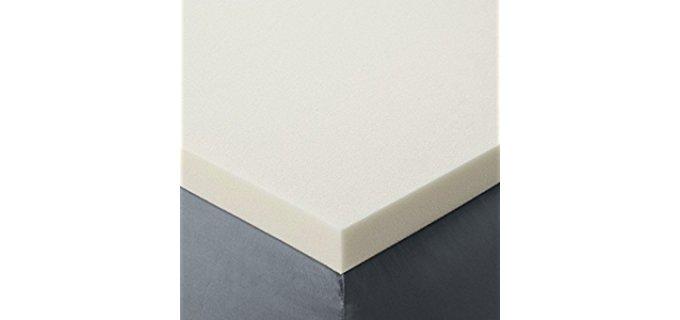 Red Nomad Memory Foam Topper - Visco Elastic Bed Topper