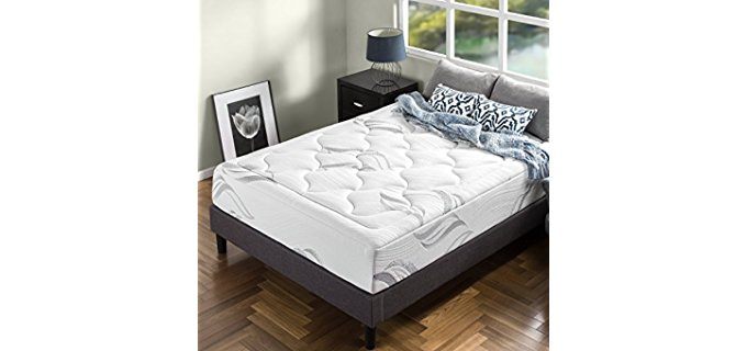Zinus Memory Foam Mattress - Ultra Plush Luxury Foam Mattress