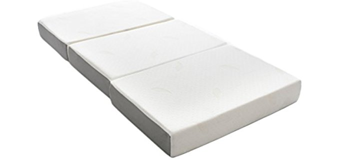 Milliard Foldable RV Mattress - Fold-Up Memory Foam Mattress for Your RV
