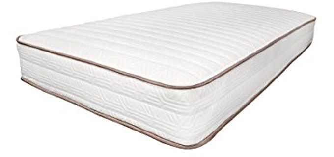 My Green Mattress Luxury Organic Mattress - Safe Organic Mattress for Kids