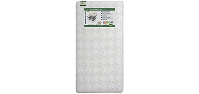 Serta Innerspring Coil Crib Mattress - Eco Friendly Crib Mattress for Toddlers