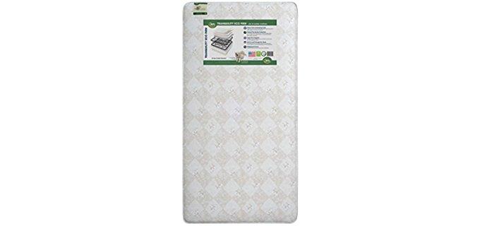 Serta Innerspring Coil Crib Mattress - Eco Friendly Crib Mattress for Toddlers