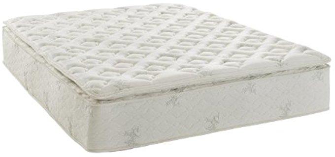 Signature Sleep Firm Bamboo Mattress - Stomach Sleeper Lumbar Support Mattress