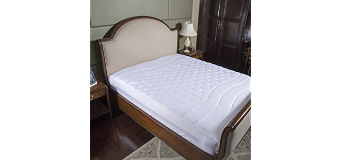Bedsure Soft Mattress Pad - Soft Protective Mattress Pad for Extra Comfort