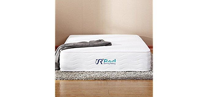Sunrising Bedding Organic Hybrid Mattress - Organic Latex Pocketed Coil Hybrid Mattress