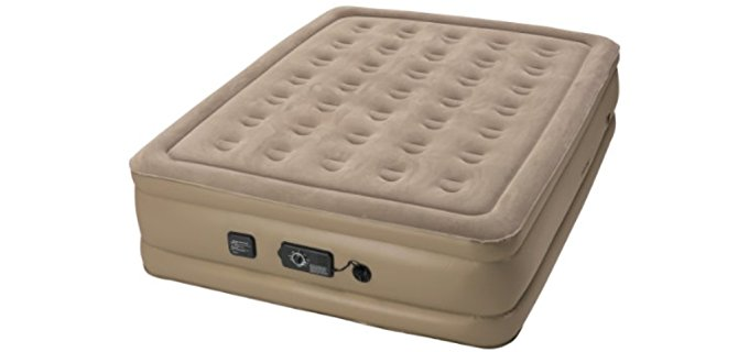 Insta-Bed Soft Camping Air Mattress - Never Flat Air Mattress for Camping