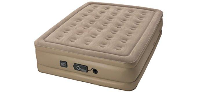 Insta-Bed Soft Camping Air Mattress - Never Flat Air Mattress for Camping
