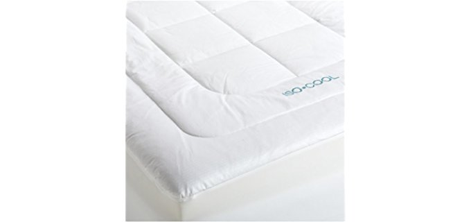 Iso-Cool Memory Foam Mattress Topper - Quilted Memory Foam Cooling Mattress Pad