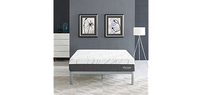 Modaway Silent Hybrid Mattress - Firm Edge Heavy People Hybrid Mattress