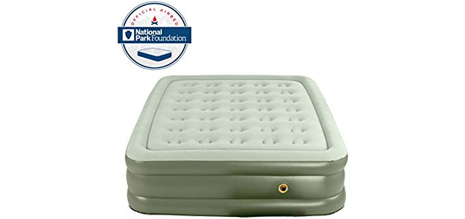 Coleman  SupportRest - Double High Airbed
