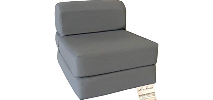 D & D Futon Furniture Foldable - Chair Bed