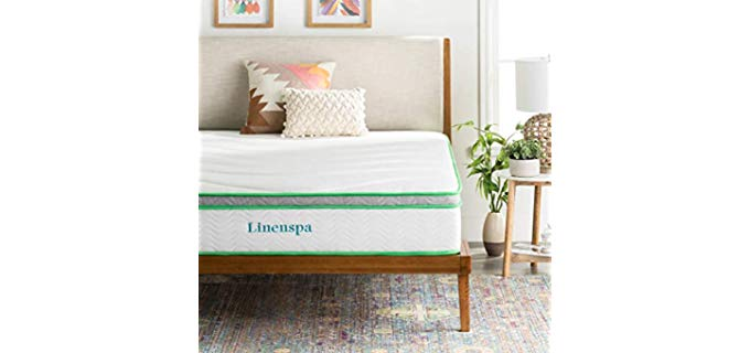 Linenspa Latex Hybrid - Firm Mattress