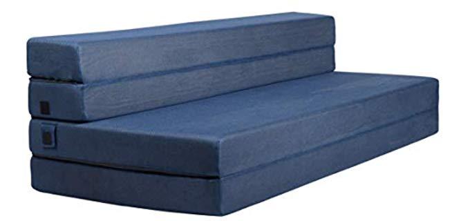 Milliard Trifold - Foam Foldable Mattress and Sofa Bed