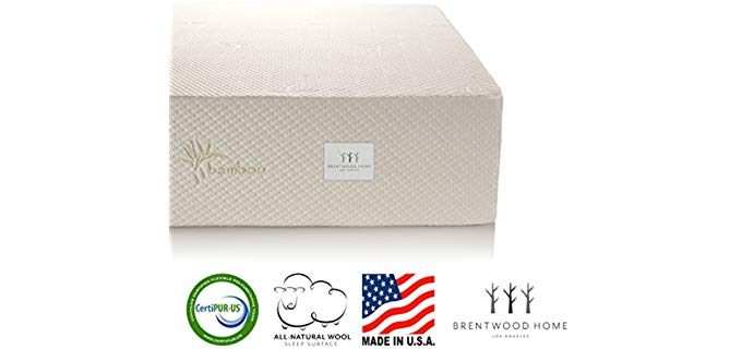 Brentwood Home Cypress - Mattress for Teenager