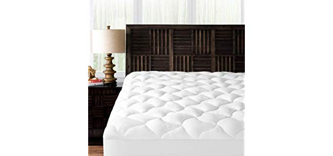 Mandarin Home Collection Ultra Soft Rayon - Bamboo Plush Mattress Topper