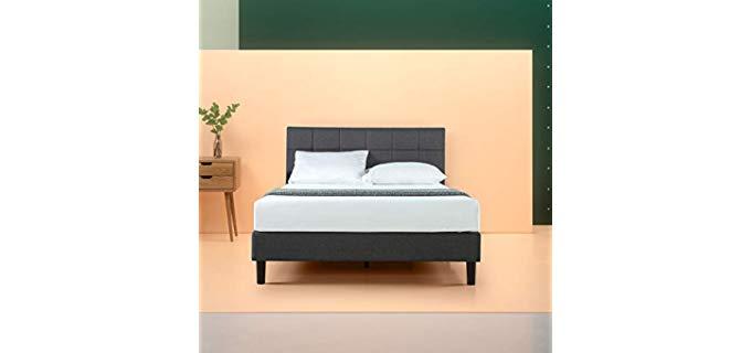 Zinus Upholstered Square Stitched - Platform Bed