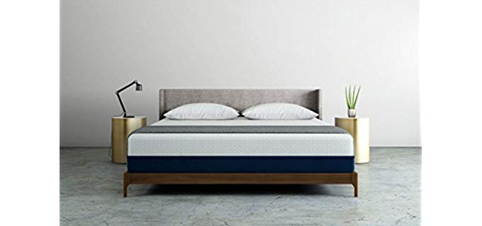 Amerisleep Natural Firm Mattress - Medium Firmness Mattress for Stomach Sleepers