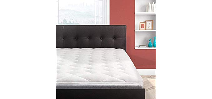 Cardinal and Crest Overfilled - Bamboo Mattress Top