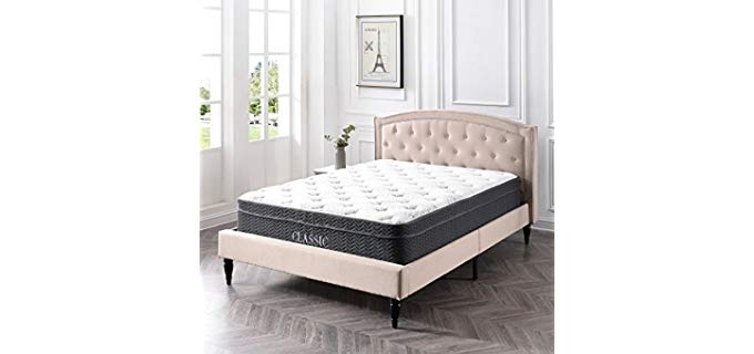 ClassicBrands Hybrid - Hybrid Latex Mattress
