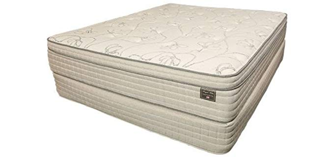 Royal Pedic Custom Made Mattress - All Organic Cotton Mattress for Heavy People