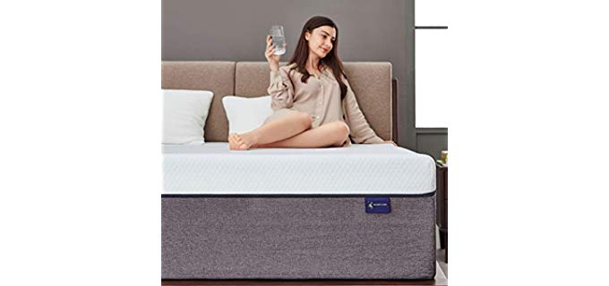 Ssecretland King - Memory Foam Mattress for Couples