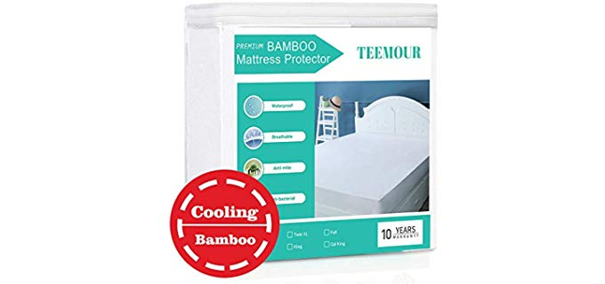 Teemour  - Waterproof Bamboo Matress Protector