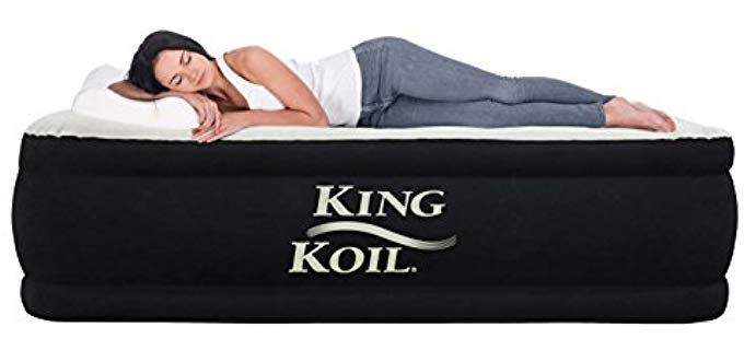 King Coil Premium - Air Mattress for Guests