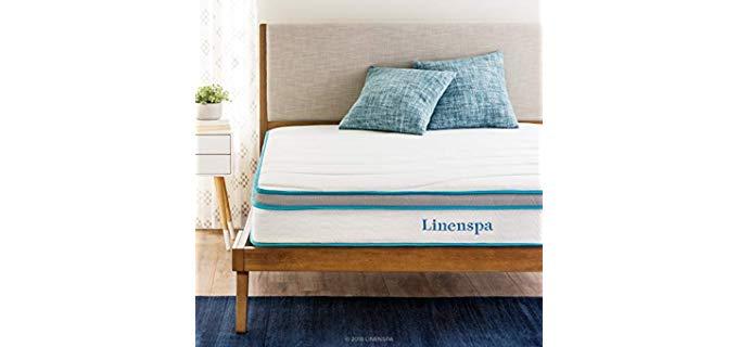 Linenspa 8 Inch - Hybrid Branded Mattress