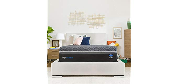 Sealy Hybrid Gold Mattress - Adjustable Base Luxury Hybrid Mattress