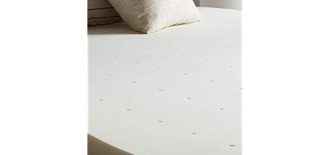 Lucid Traditional Foam - Mattress Topper