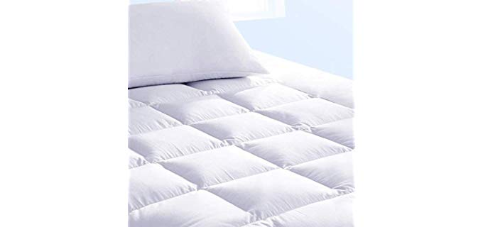 Pure Brands Extra Thick - Mattress Topper and Pad Cover