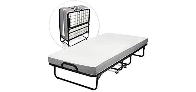 Milliard Diplomat - Basic Folding Bed and Mattress