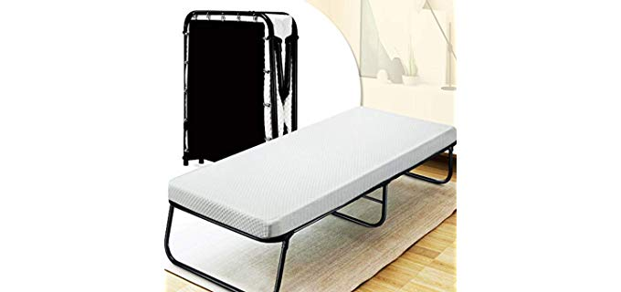 Quictent Heavy Duty - Folding Bed and Mattress