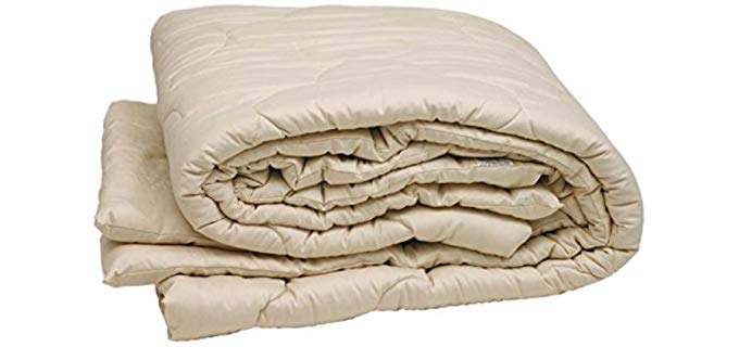 Sleep & Beyond 100% Organic - Merino Wool Mattress Topper