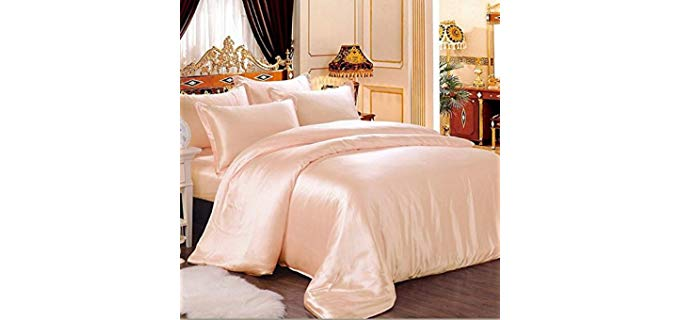 Vuvet Bedding Premium - 100% Pure Silk Sheets