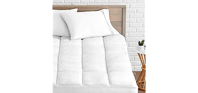 Bare Home Microplush - Soft Mattress Toppers
