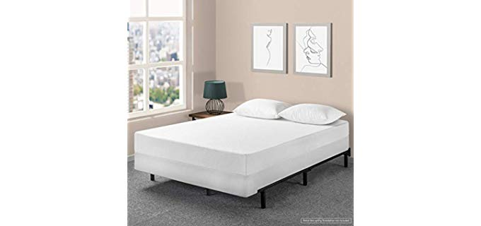 BPM Queen Size - Box Spring & Memory Foam Mattress Set