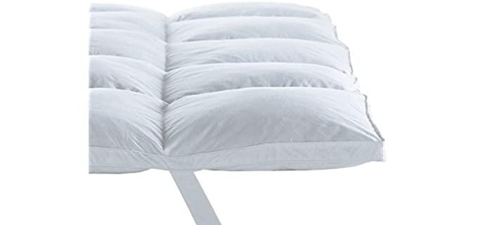 Home Sweet Egyptian Cotton - Queen Hypoallergenic Mattress Topper