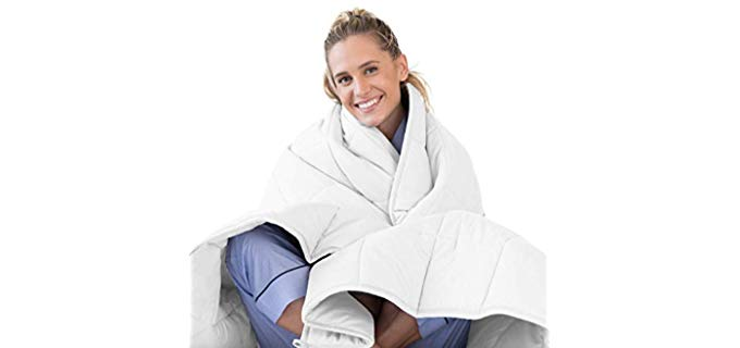 LUNA White - Premium Weighted Blanket