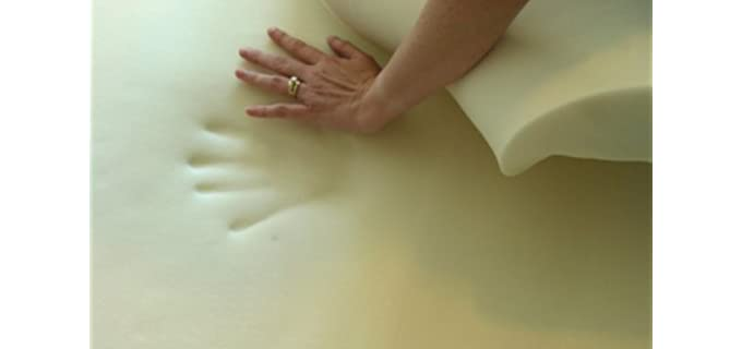 SleepBetter Visco-Elastic - Foam Mattress Topper For Pregnancy