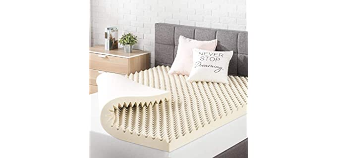 Best Price Mattresses Copper Infused - Egg Crate Mattress Topper