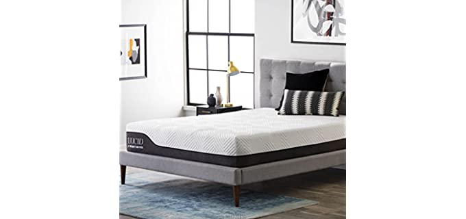 LUCID Hybrid - Odor Control Mattress for Teenagers