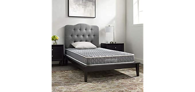 Modway Emma - Slim Thin Mattress