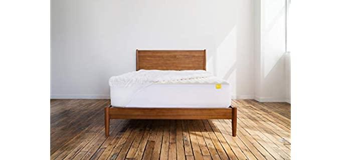 Revel Hybrid-Foam - Dense Mattress Topper For Pregnancy