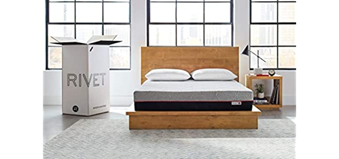 Rivet King - Comfortable Couples Mattress