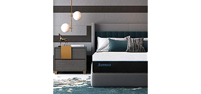 Avenco 10Inch - Mattress For Arthritis Relief