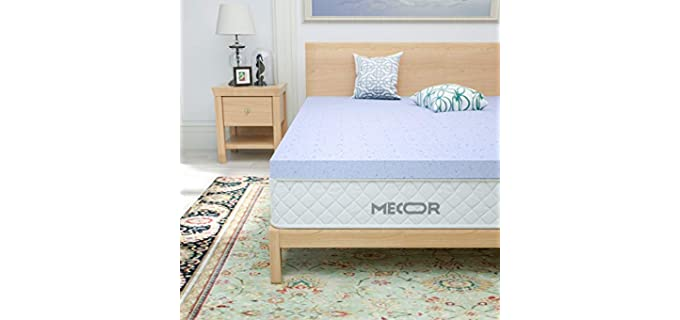 Mecor Stomach Sleeper - Bed Topper
