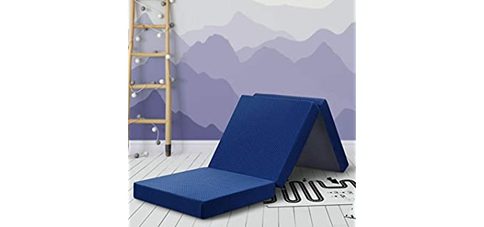 Sleeplace Tri-Folding - Mattress Topper for Sofa Bed